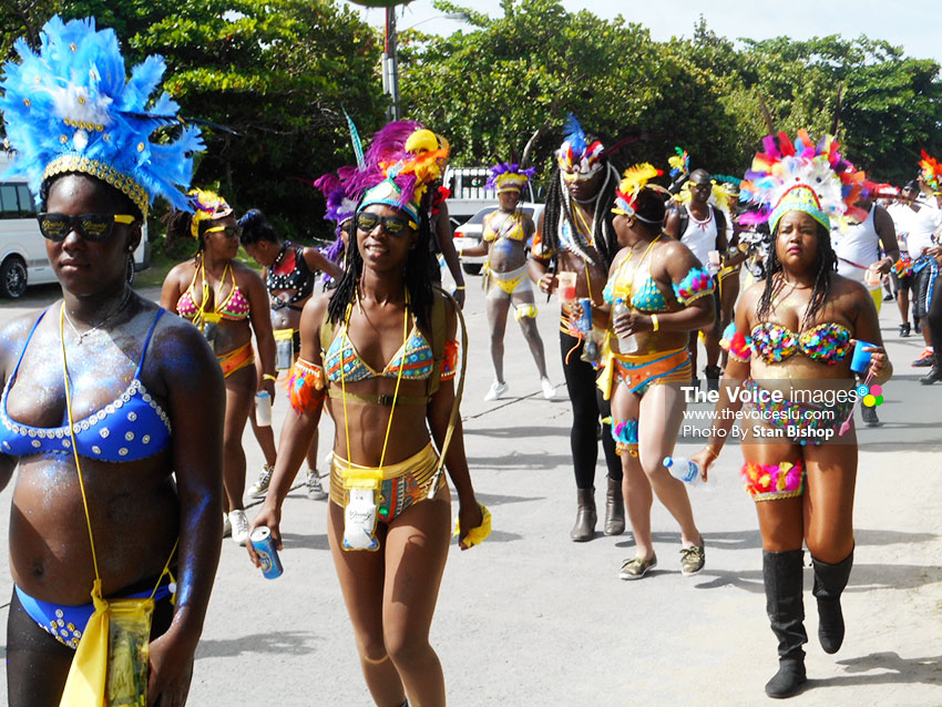 Image: A flashback to Vieux Fort Carnival