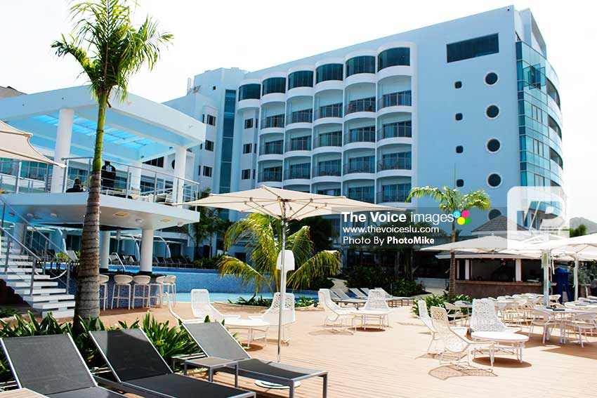 Image of a section of the newly-opened Harbor Club at Rodney Bay. (PHOTO: PhotoMike)