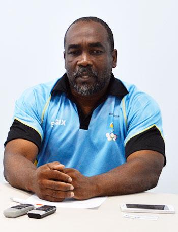 Image of SLOC General Secretary, Alfred Emmanuel
