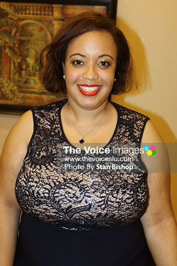 Image of SLTA's Public Relations Officer, Charmaine Joseph.