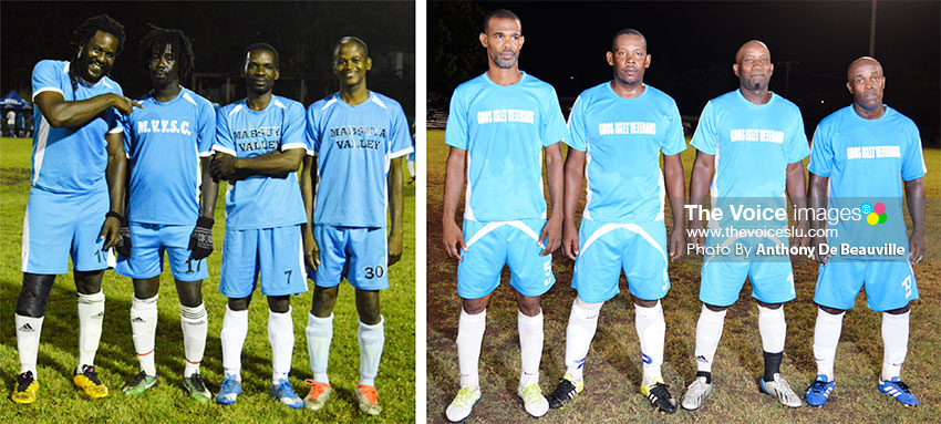 Image: For the Gold Cup, Gros Islet and Valley Legends will square off in semifinals No.1 (Photo: Anthony De Beauville)