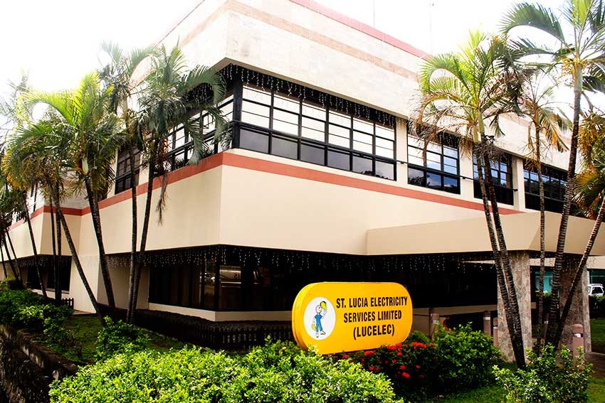 Image of LUCELEC Castries offices