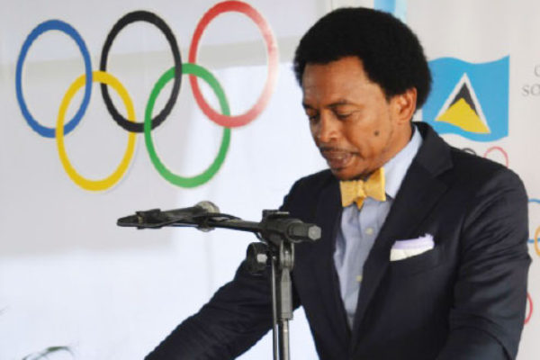 """Image of President of Trinidad and Tobago Olympic Committee Brian Lewis says, """"What we don't want to do as an Olympic Committee and as a Commonwealth Games Association is make the difficult choice to leave athletes and teams at home."""""""