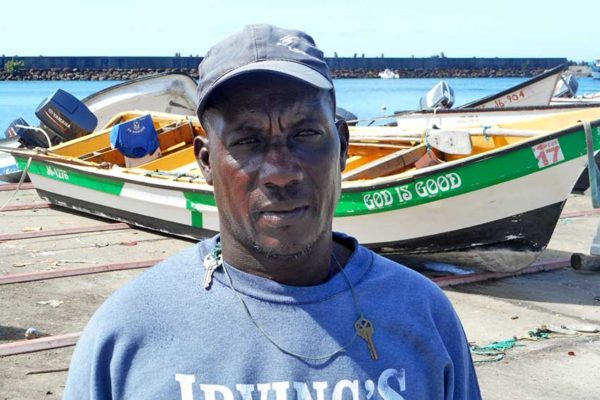 Image of Robert Charles, a fisherman from Vieux Fort
