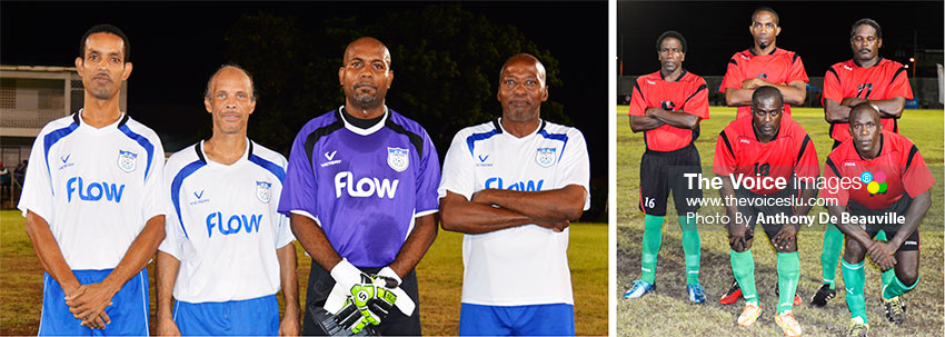Image of some of the faces one will see on show in the encounter between VSADC and Flow Lancers FC (Anthony De Beauville)