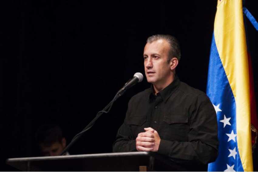 Image of Vice-President Tareck El Aissami of the Bolivarian Republic of Venezuela