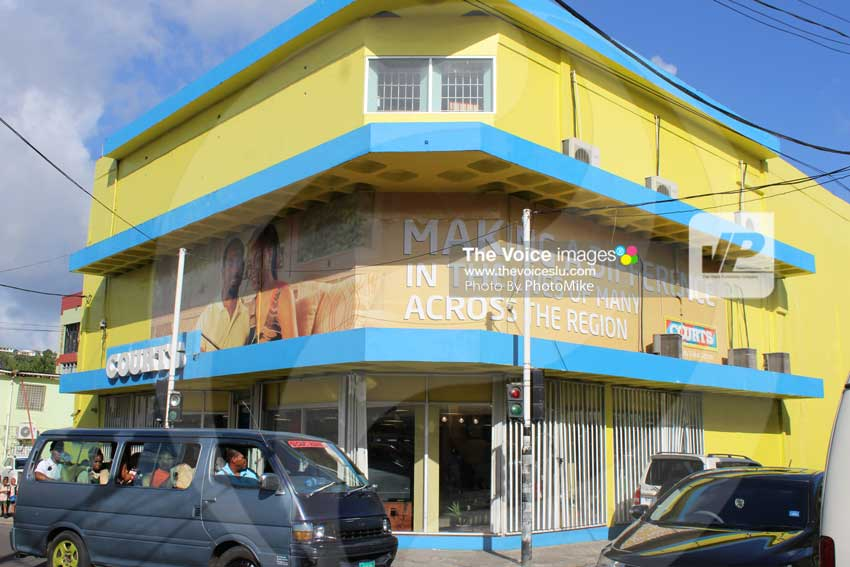 Image of Unicomer(Courts) St. Lucia, Chaussee Road branch