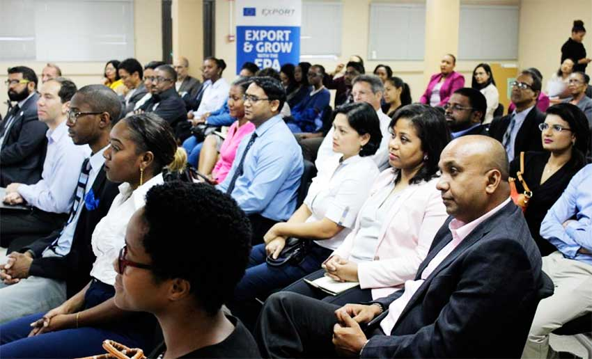Image: Audience members at the launch.