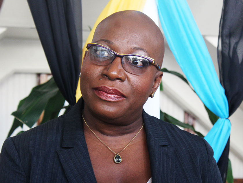 Image of Minister Dr Gale Rigobert, Parliamentary Representative for the Micoud North constituency