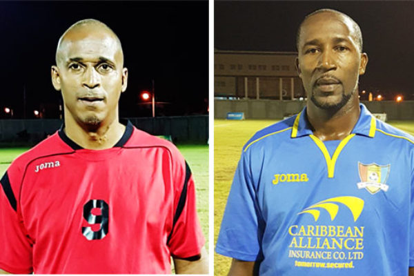 Image of Guy Jn. Baptiste (VSADC) and Andy Joseph