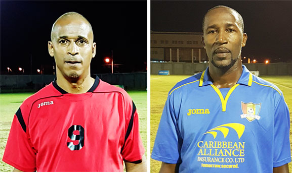 Image of Guy Jn. Baptiste (VSADC) and Andy Joseph