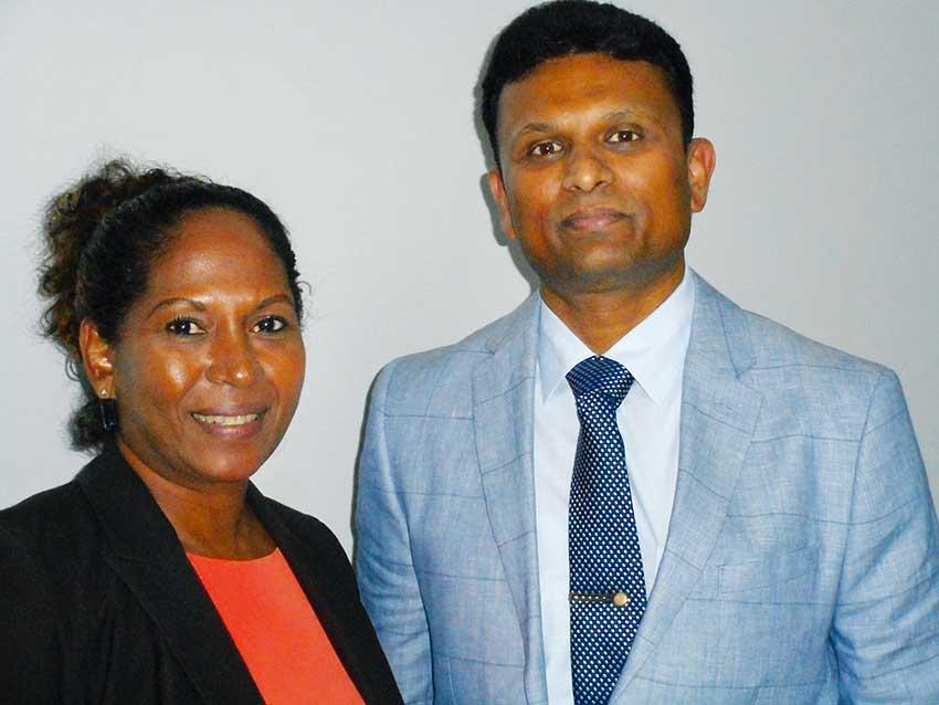Image of Joseph and Dr. Shubhakar