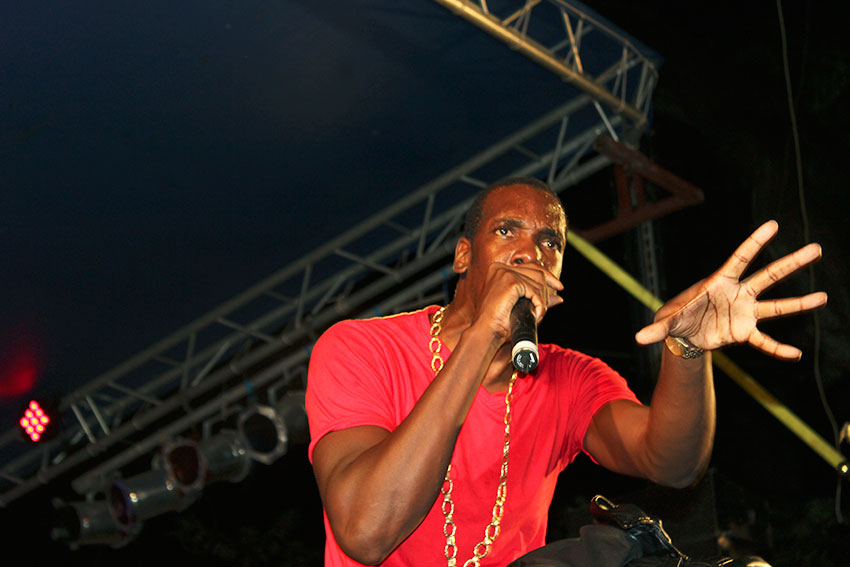 Image of Lance Montoute (popularly known as Mac 11)