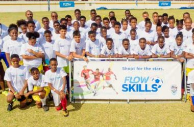 Image: Manchester United Flow Skills Challenge Saint Lucia.
