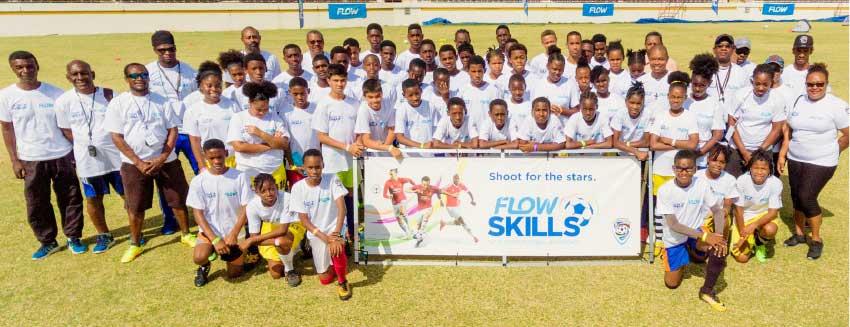 Image: Manchester United Flow Skills Challenge Saint Lucia.
