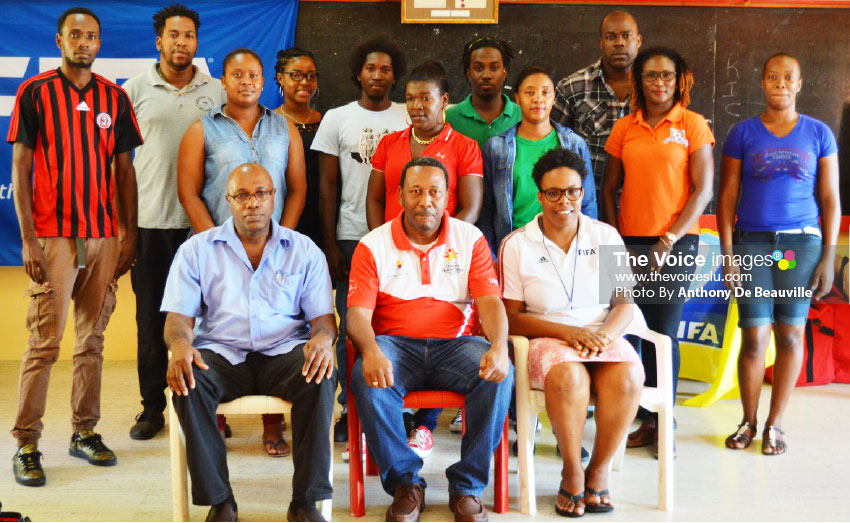 Image: Participants and SLFA official on the opening day. (PHOTO: Anthony De Beauville)