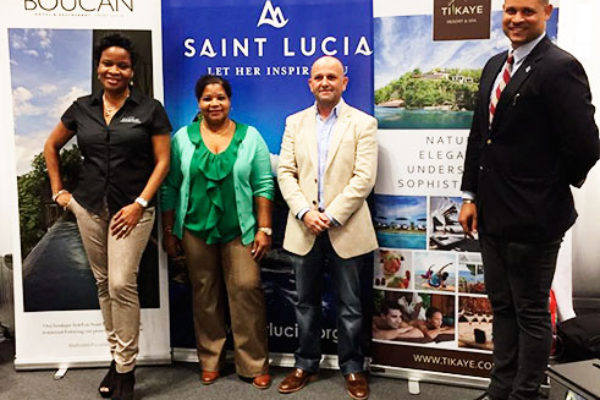 SLTA representatives at the New York Times Travel Show.