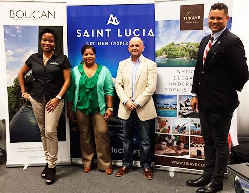SLTA representatives at the New York Times Travel Show.