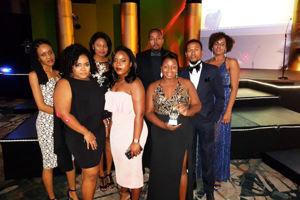 Image: Staff of FCIS St. Lucia in attendance at the awards ceremony.
