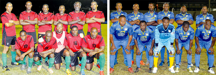 Image: (L-R) VSADC will play Caricom Masters for the Plate Championship. (PHOTO: Anthony De Beauville)