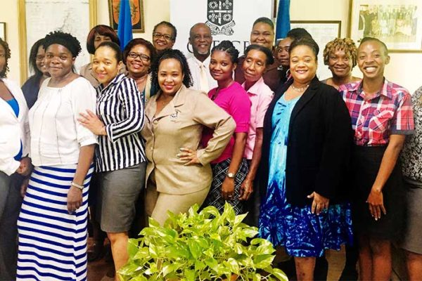 Image: Castries Mayor Celebrates Every Woman