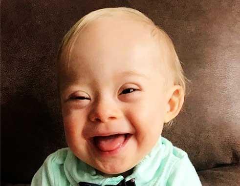 Image of Gerber baby Lucas Warren