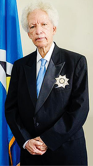 Image of Governor General Sir Neville Cenac