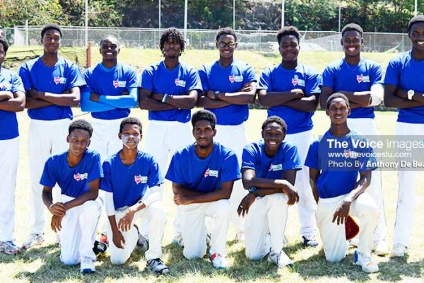 Image: Gros Islet U19s (Photo: Anthony De Beauville)