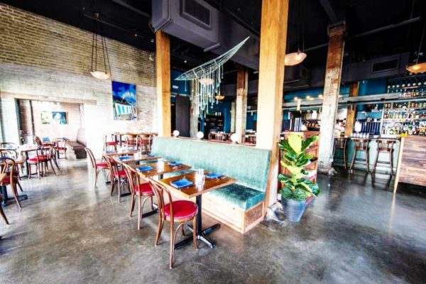 Image of the inside of Bywater Bistro