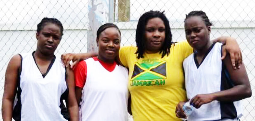 Image: Female champions, Lady Jets KayarnaLouison, Janice Hector, Melissa Demille and Carlyn Williams. (Photo: SLBF)