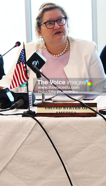 Image of Laura Griesmer, Deputy Chief of Mission United States Embassy.(PHOTO: PhotoMike)