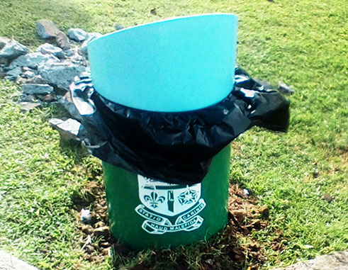 Image of New bins