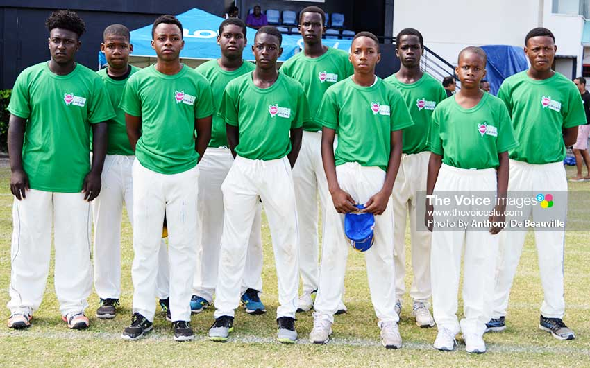 Image: South Castries U19s (Photo: Antony De Beauville)