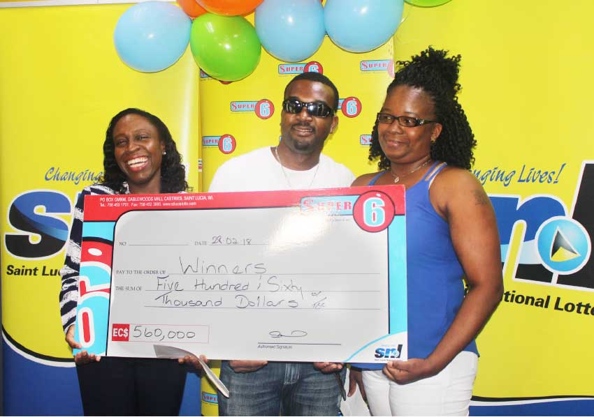 Image: Two St. Lucians Win $280,000 Each
