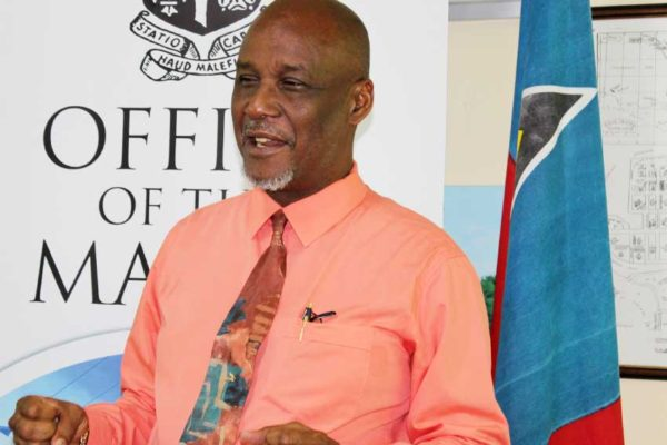 Image of Mayor of the City of Castries Peterson D. Francis