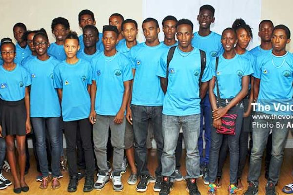 Image: Saint Lucia CARIFTA Team 2014 won - 1 gold, 1 silver and 1 bronze in Martinique 2014 (Photo: Anthony De Deauville)