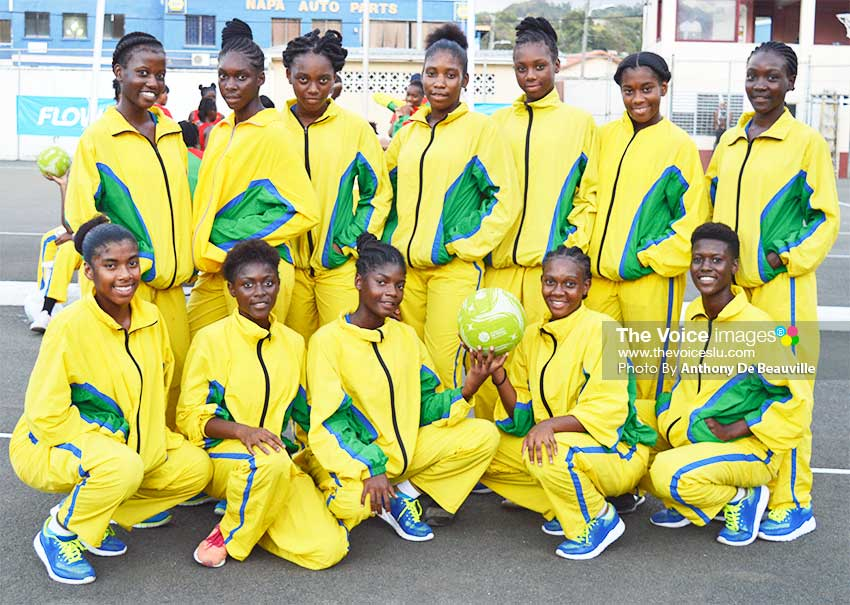 Image: Saint Vincent and the Grenadines took on Saint Lucia