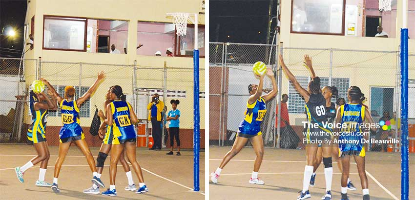 Image: Some of the showpiece between Saint Lucia and Barbados final score 27 - 27 (Photo: Anthony De Beauville)