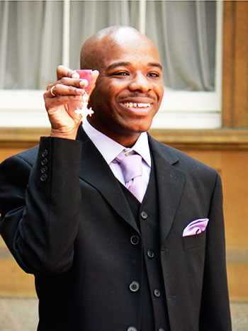 Image of Stephen Wiltshire MBE, Hon.FSAI, Hon.FSSAA (born 24 April 1974) is a British architectural artist. He is best known for his ability to draw from memory a landscape after seeing it just once.
