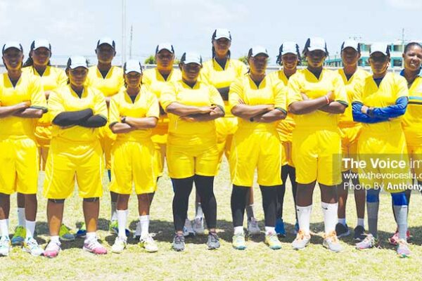 Image: Team Saint Lucia will play Saint Vincent tomorrow. (PHOTO: Anthony De Beauville)