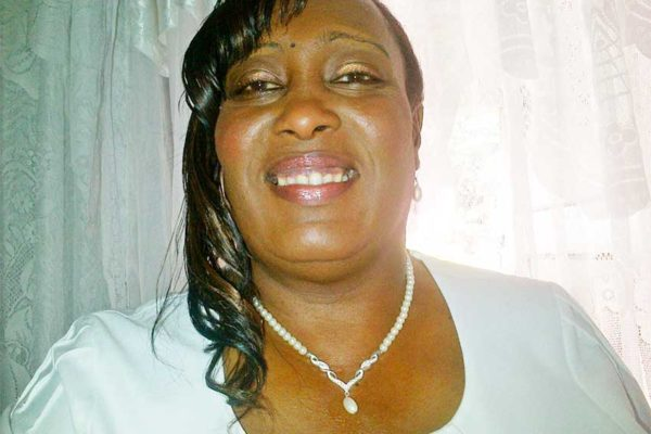 Image: Alicia Baptiste, President of the St. Lucia Nurses Association.