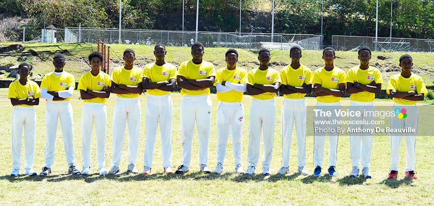 Image of Babonneau U19s (Photo: Anthony De Beauville)