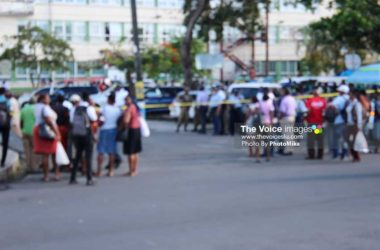 Image of Castries City after broad daylight shooting