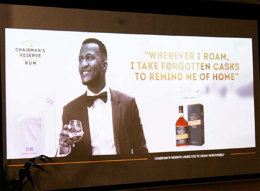 Image of DAREN Sammy, the Brand Ambassador for Chairman's