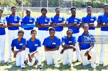 Image of Gros Islet U19s (Photo: Anthony De Beauville)