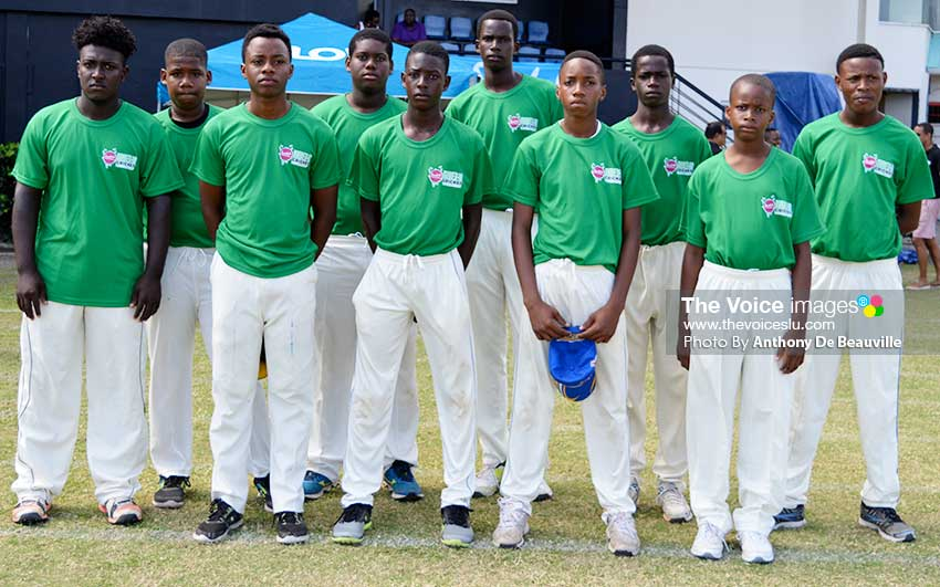 Image of South Castries U19s (Photo: Anthony De Beauville)