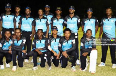 Image: Gros Islet Knight Riders set to take on Choiseul Craft Masters. (PHOTO: Anthony De Beauville)