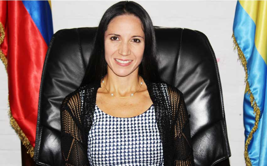 Image of Venezuela's ambassador to St. Lucia, Leiff Escalona