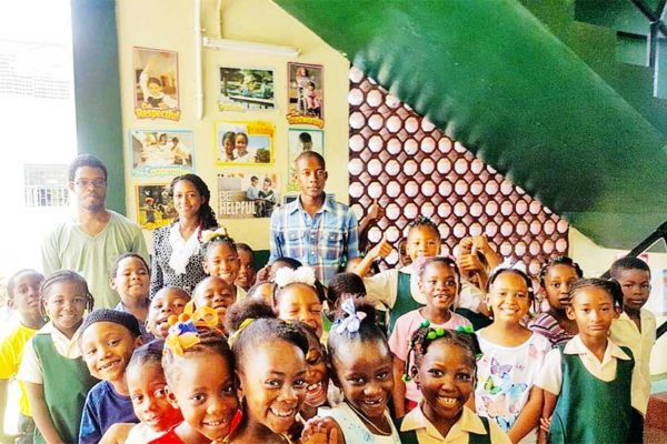 Image: Students from several schools benefited...