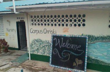 IMG: The closed pre-school...